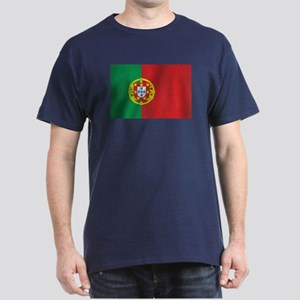 Vintage Portugal Flag Dark T-Shirt