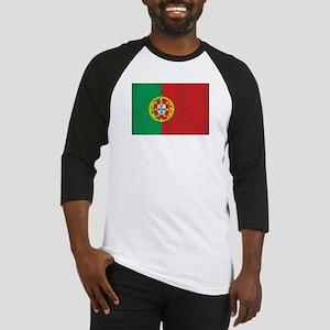 Vintage Portugal Flag Baseball Jersey