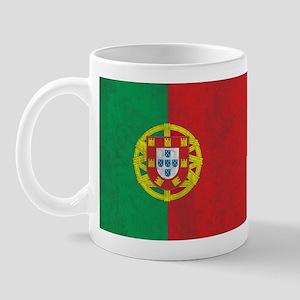 Vintage Portugal Flag Mug