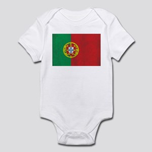 Vintage Portugal Flag Infant Bodysuit