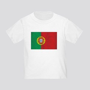 Vintage Portugal Flag Toddler T-Shirt