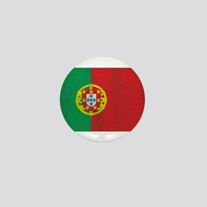 Vintage Portugal Flag Mini Button