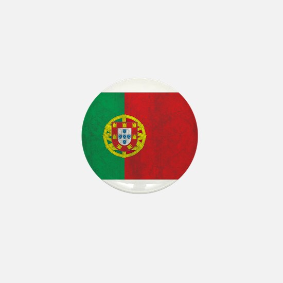 Vintage Portugal Flag Mini Button