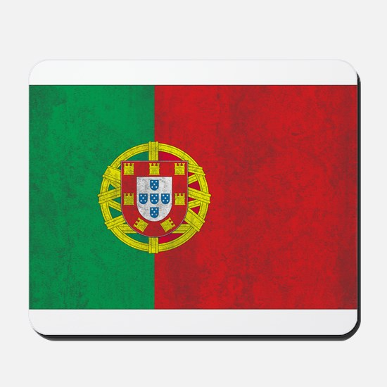 Vintage Portugal Flag Mousepad