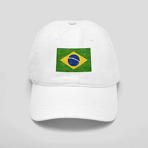 Vintage Brazil Flag Cap