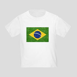 Vintage Brazil Flag Toddler T-Shirt