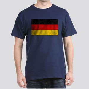Vintage Germany Flag Dark T-Shirt