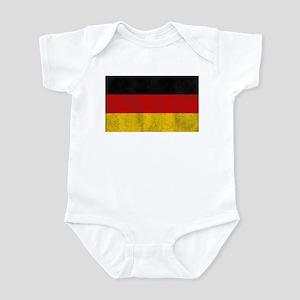 Vintage Germany Flag Infant Bodysuit