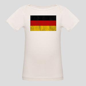Vintage Germany Flag Organic Baby T-Shirt