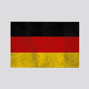 Vintage Germany Flag Rectangle Magnet