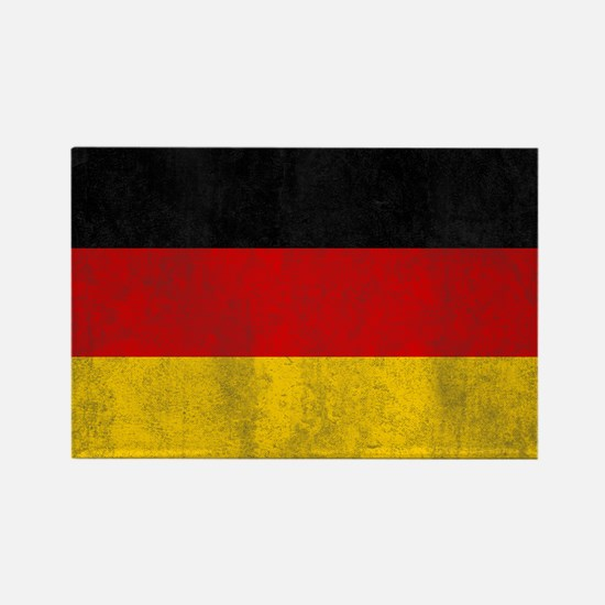 Vintage Germany Flag Rectangle Magnet