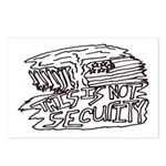 This is Not Security Antiwar Postcards