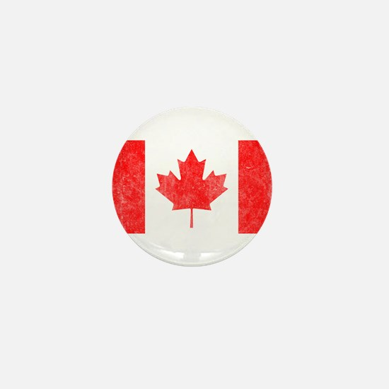 Vintage Canada Flag Mini Button