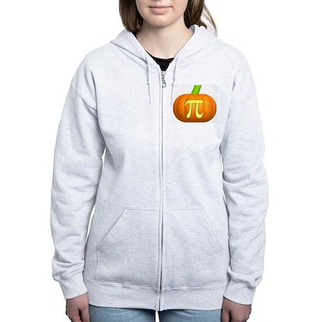 Pumpkin Pi Women's Zip Hoodie