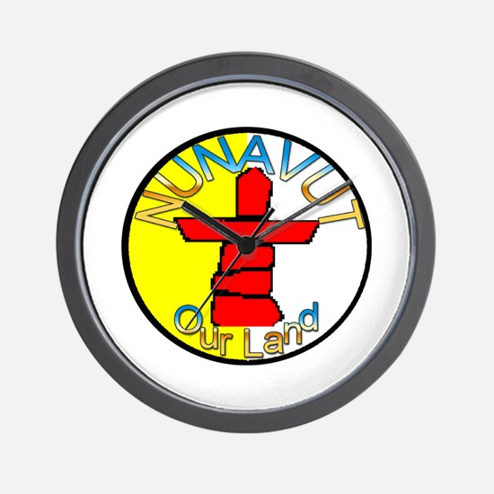 Nunavut Canada Wall Clock