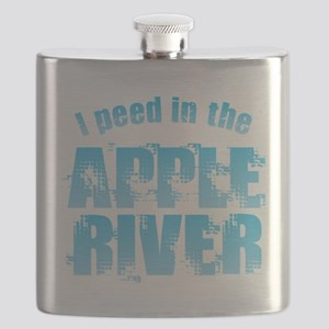 I Peed in the Apple River Flask