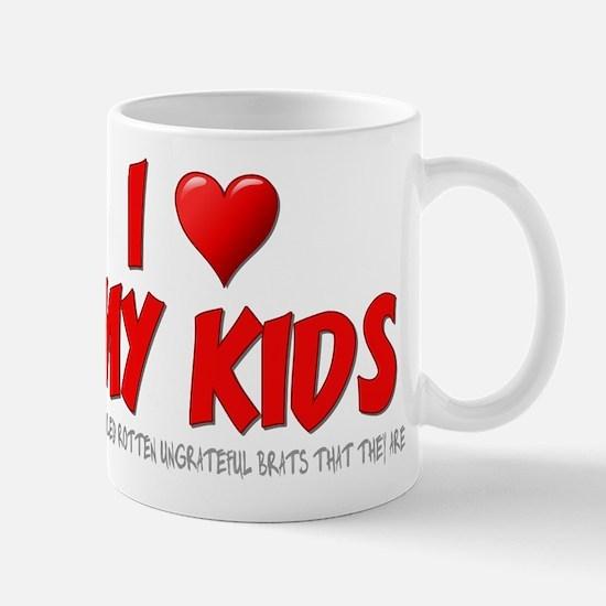 I Love My Kids Mug