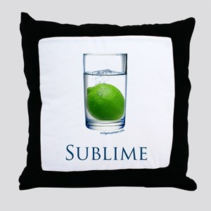 Sublime funny Throw Pillow