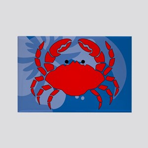 Crab Rectangle Magnet