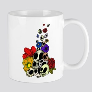 Skulls & Flowers Mug
