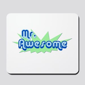 Mr. Awesome Mousepad