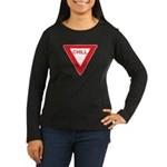 Chill Women's Long Sleeve Dark T-Shirt