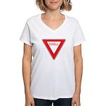 Chill Women's V-Neck T-Shirt