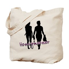 Scuba Honeymoon Tote Bag