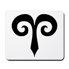 Aries Sign Gift Gear Mousepad