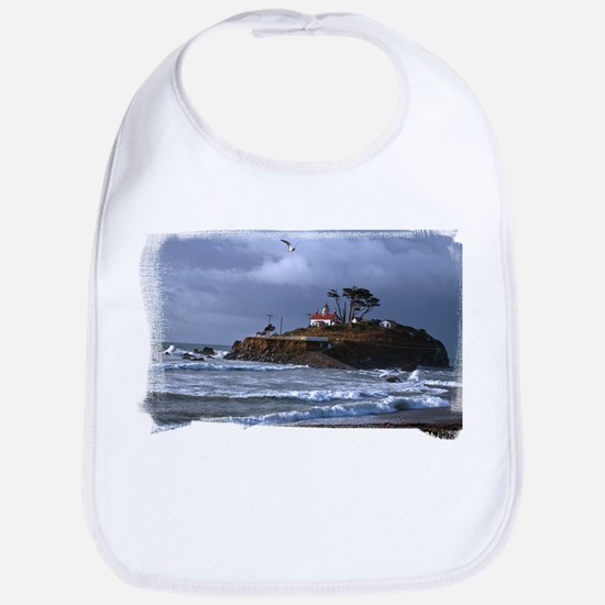 Battery Point Lighthouse & Gull Bib