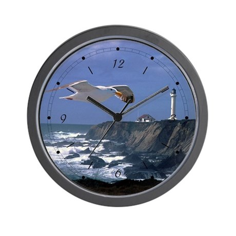 Lighthouse Amp Seagull Wall Clock By Buffaloworks