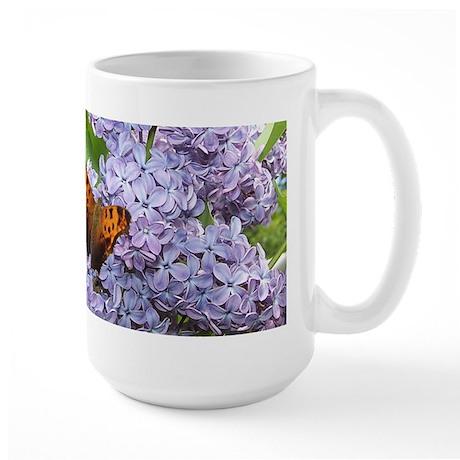 Blue Lilac Large Mug