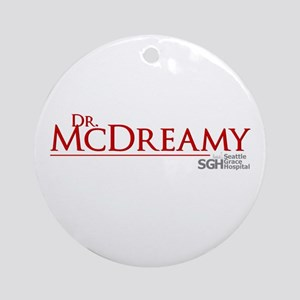 Dr. McDreamy Round Ornament