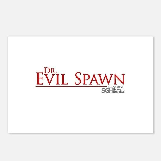 Dr. Evil Spawn Postcards (Package of 8)