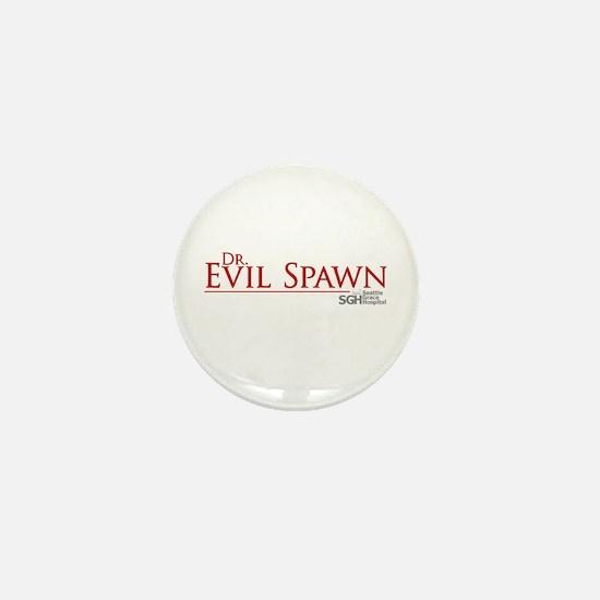 Dr. Evil Spawn Mini Button