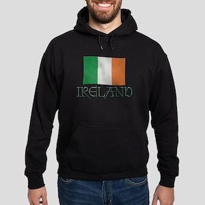Ireland Flag Hoodie (dark)