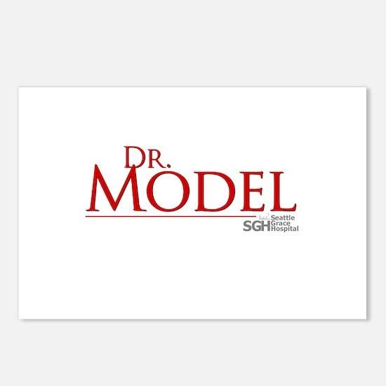 Dr. Model Postcards (Package of 8)
