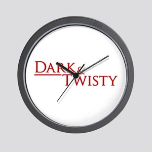 Dark & Twisty Wall Clock