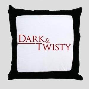 Dark & Twisty Throw Pillow
