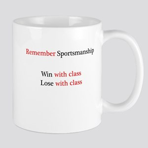 Sportsmanship (Text on front only) Mug