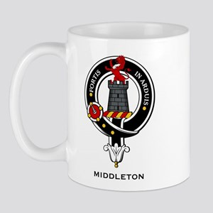 Middleton Clan Crest Badge Mug
