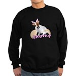 Jack Russell Easter Design Sweatshirt (dark)