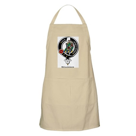 McLennan Clan Crest Badge BBQ Apron