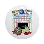 Boycott the Circus Ornament (Round)