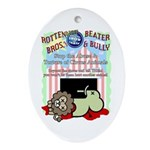 Boycott the Circus Ornament (Oval)