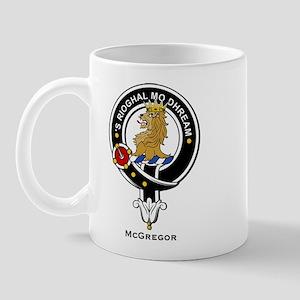 McGregor Clan Crest Badge Mug