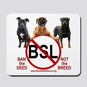 STOP B.S.L. - Mousepad