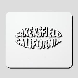 Bakersfield Circle Mousepad