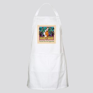 """HERDED THRU THE GRAPEVINE"" Apron"