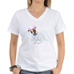 Jack Rabbit Women's V-Neck T-Shirt